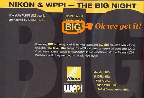 Nikon Big event