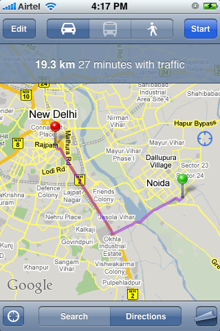 Driving directions in Google Maps India- woikr on giving directions, traffic directions, travel directions, scale directions, driving directions, get directions, compass directions, mapquest directions,