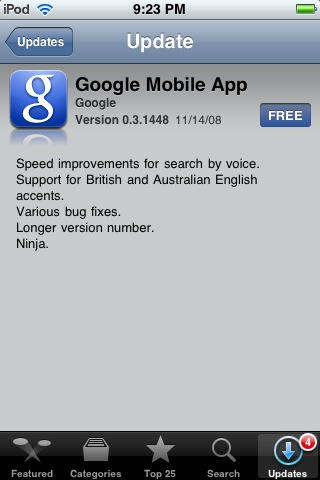 google_mobile_iphone_app_update_lol