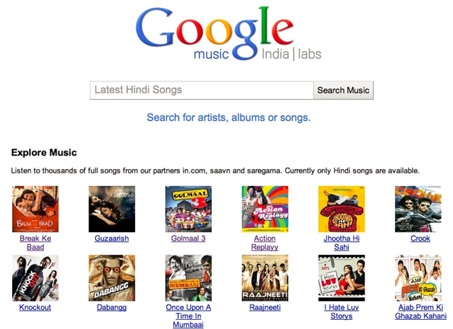 Google launches music search service in India- woikr