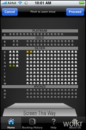 BookMyShow-SeatSelect