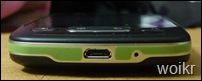 LG Optimus One Bottom View