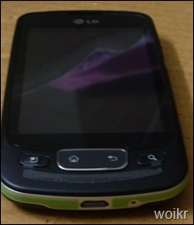 LG Optimus One Front View