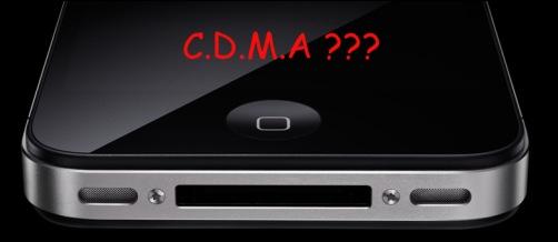iPhone - CDMA