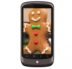 Nexus One Gingerbread