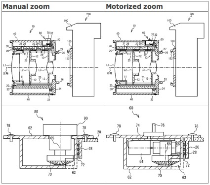 Nikon Electronic Zoom Patent