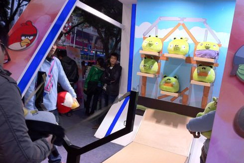Angry Birds in Carnival