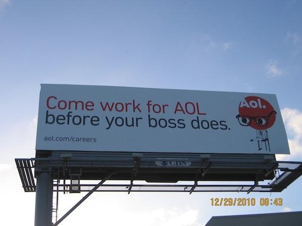AOL Job advertisement