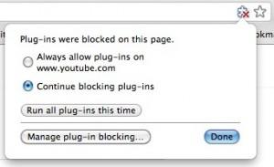 Chrome Disabled=