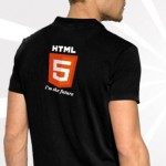 HTML5 T-Shirt with Collar
