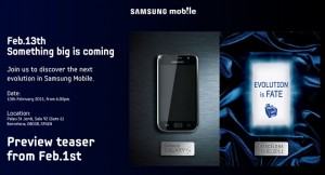 Samsung Galaxy S successor to be announced in MWC Barcelona