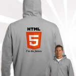 HTML5 Hoodie with Zipper