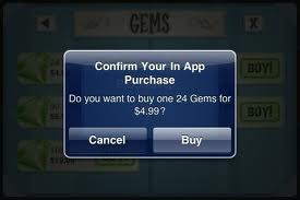 In App Purchases on iPhone