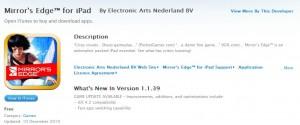 Mirror's Edge Free on iPhone and iPad