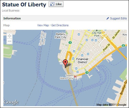 Facebook-Places-With-Google-Maps-Statue-Of-Liberty