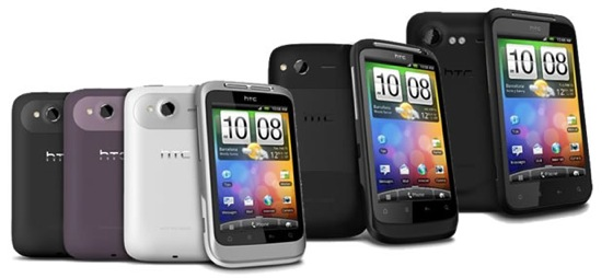 New HTC Android Phones