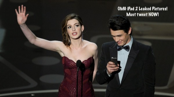 James Franco & Anne Hathaway, Oscars 2011