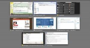 Chrome Expose Tabs