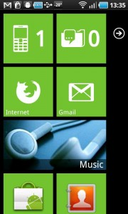 Windows Phone 7 UI on Android