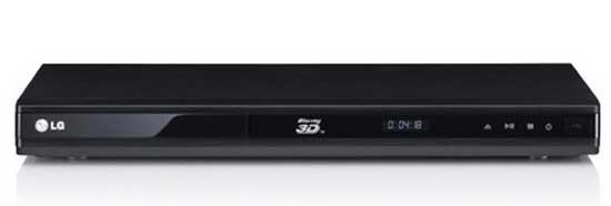 LG BD670 3D Blu ray player
