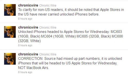 iPhone4 unlocked in US