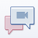 Facebook video calling logo