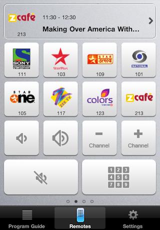 Tatasky iphone app remote2