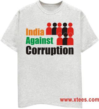 anna hazare t shirt