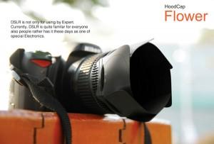 HoodCap combines DSLR lens cap and hood