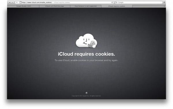 iCloud Cookies