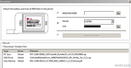 LG Mobile Support Tool - USB Driver Download