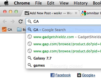 Chrome Bookmarks Search Does Not Work