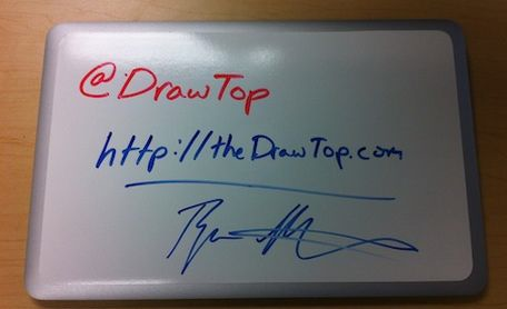 drawtop laptop whiteboard