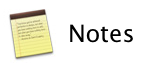 Notes Mountain Lion