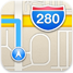iOS 6 maps logo