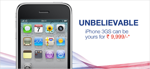 aircel iphone 3gs