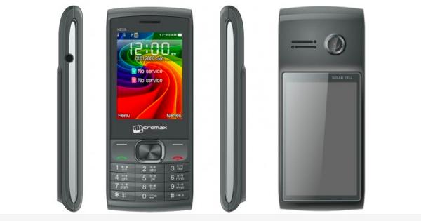 Micromax X259 Solar Phone