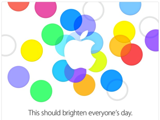 apple sept 2013 event pic