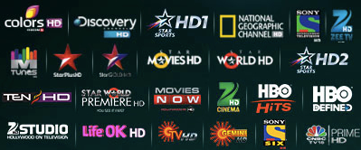 TataSky HD Channels as on Feb 2014