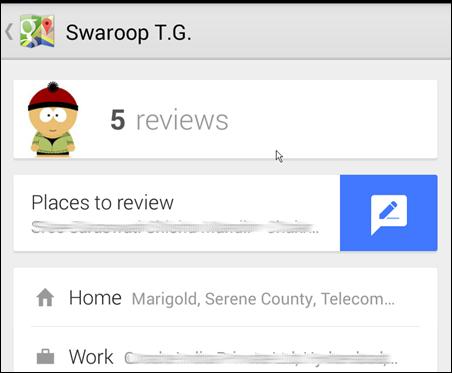Google Apartment Reviews