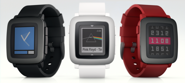 pebble time - colors